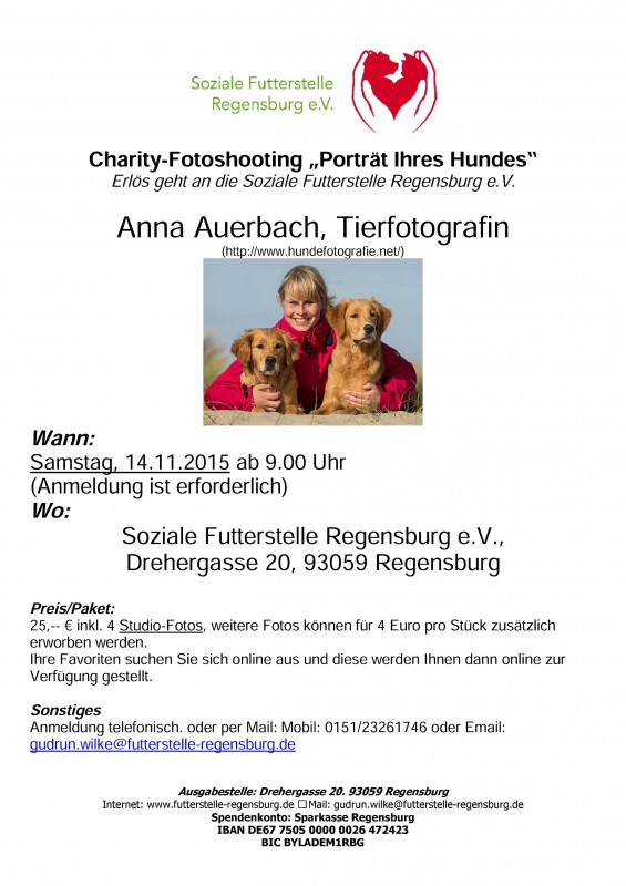 Charity-Fotoshooting Mit Anna Auerbach
